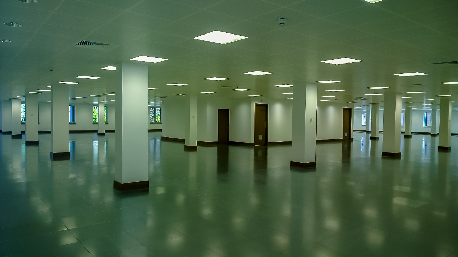 Large empty office